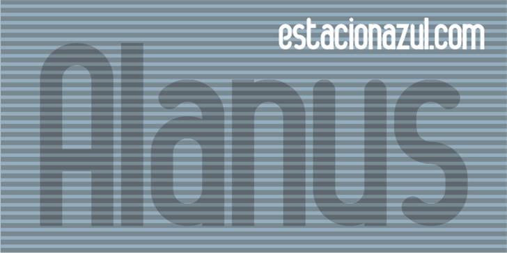 Image for Alanya font
