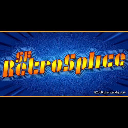 Image for SF RetroSplice font