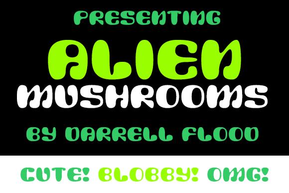 Image for Alien Mushrooms font