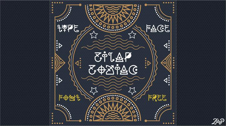 Image for Zilap Zodiac font