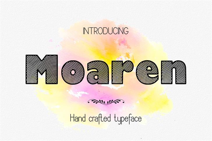 Image for Moaren font