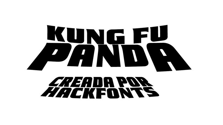 Image for Kung Fu Panda font