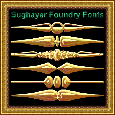 Image for Sughayer Separates_33 font