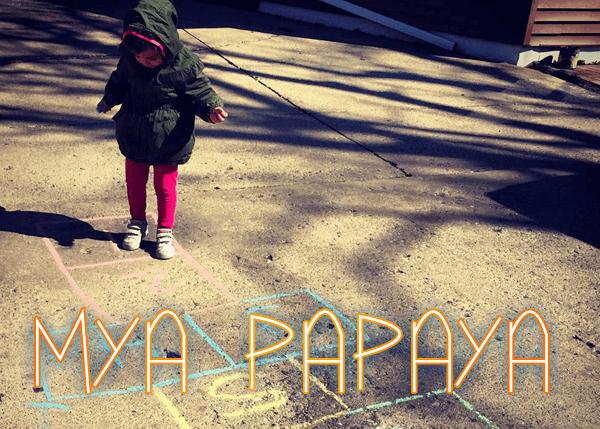 Image for Mya Papaya font