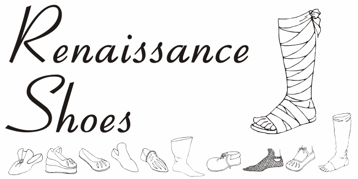 Image for Renaissance Shoes font