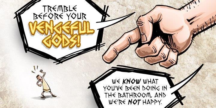 Image for Vengeful Gods BB font