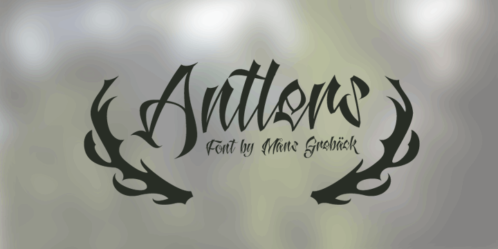 Image for Antlers Demo font