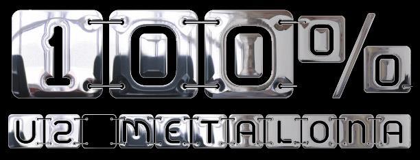 U2 Metalona* font by deFharo