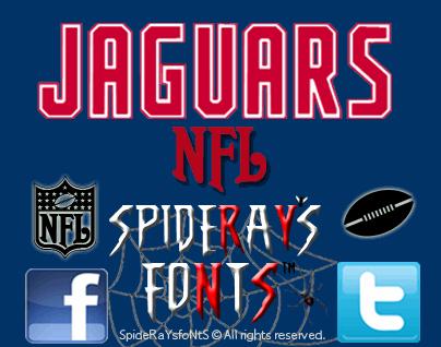 Image for NFL Jaguars font