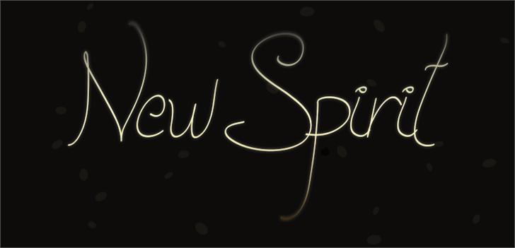 Image for New Spirit font