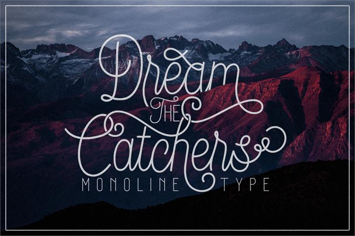 Image for DreamCatchersDemo font