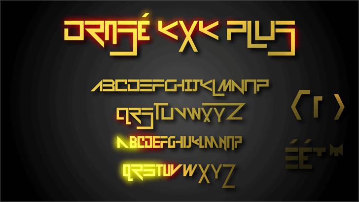 Image for Drosé KXK Plus font