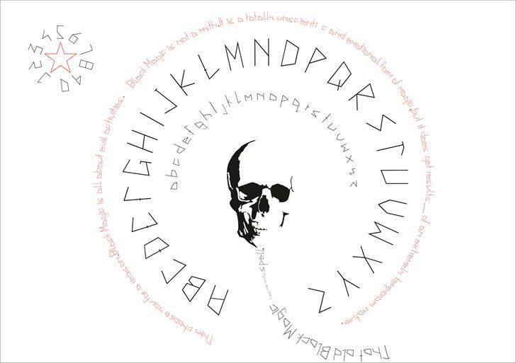 Image for la magie font