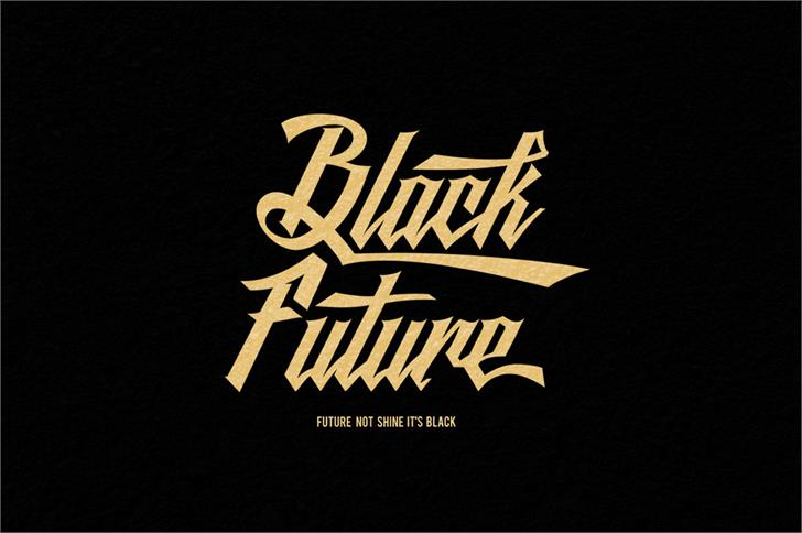 Image for Black Future font