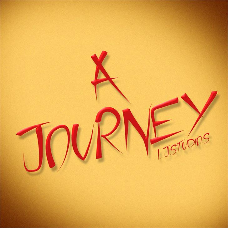 Image for A Journey font
