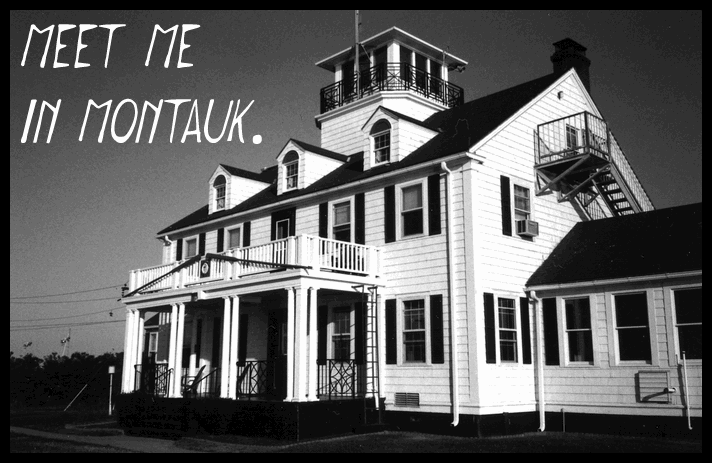 Image for Meet me in Montauk font