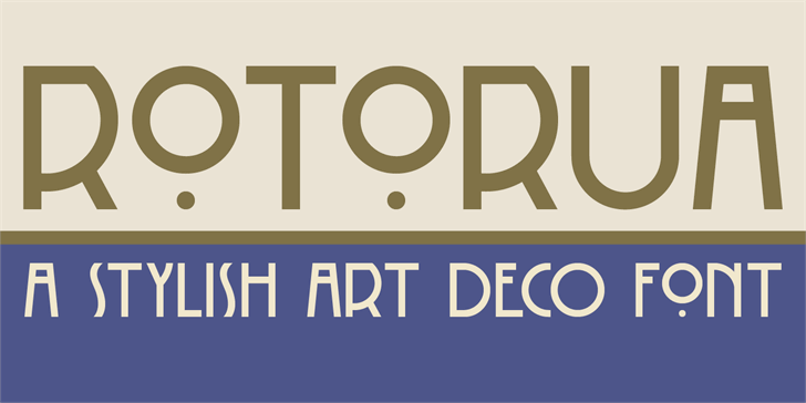 Image for DK Rotorua font