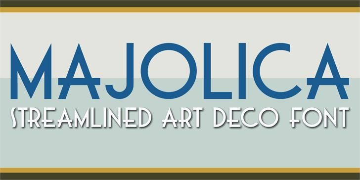 Image for DK Majolica font