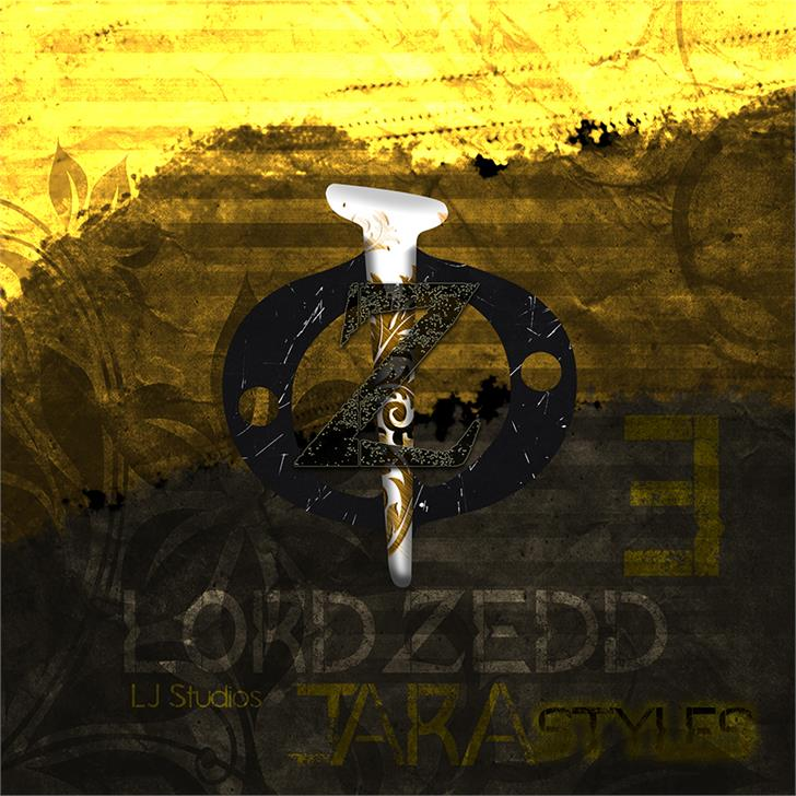 Image for Lord ZeDD 3 font