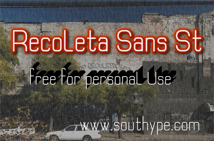 Image for Recoleta Sans St font