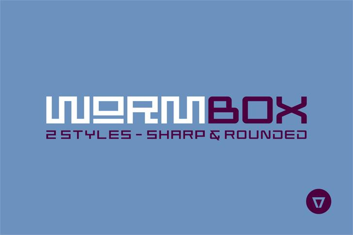 Image for Wormbox Sharp font