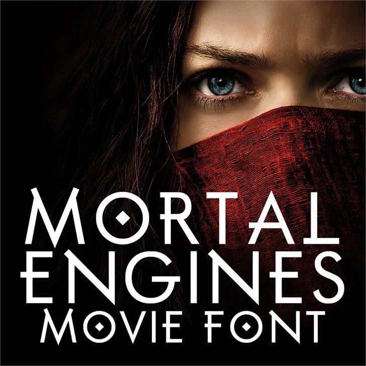 Image for Mortal Engines font