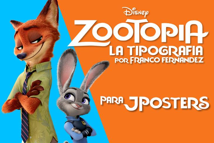 Image for Zootopia JPosters.com.ar font