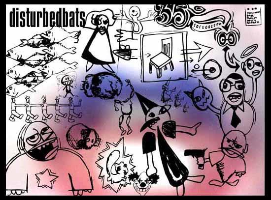 Image for DisturbedBats font