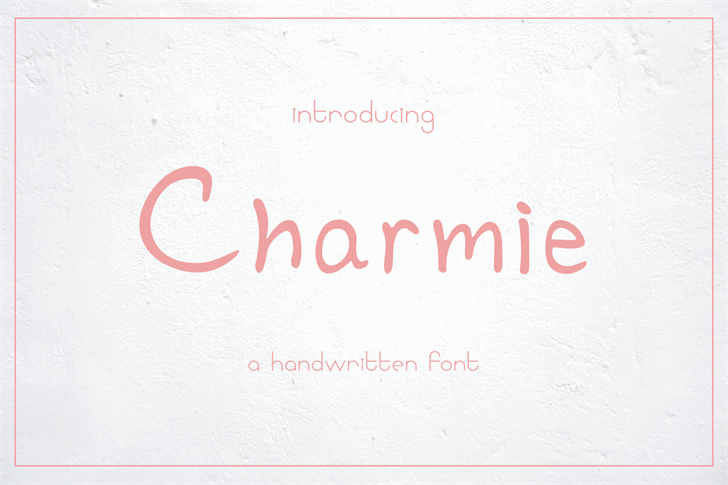 Image for Charmie font