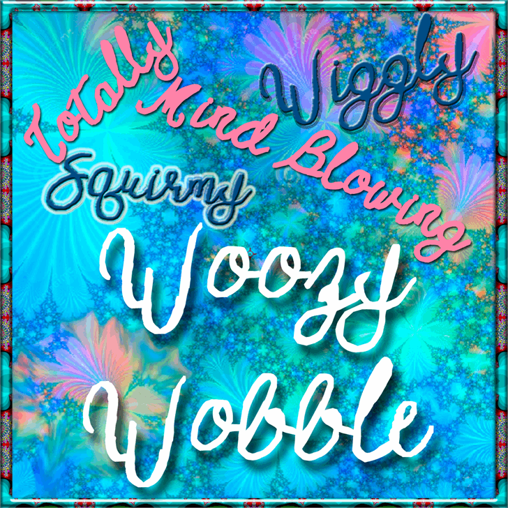 Image for Woozy Wobble Demo font