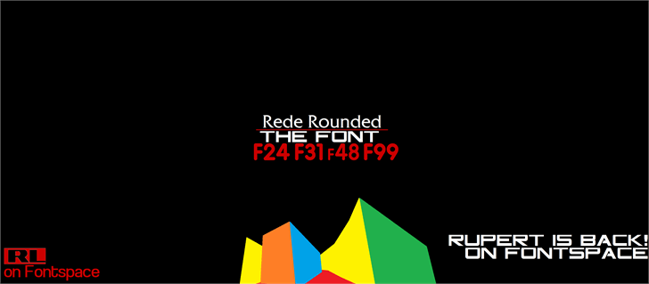 Rede Rounded F24 font by RupertLeabres Fonts