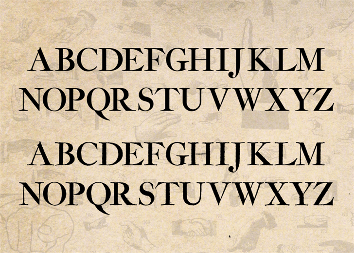 Image for Amarfil font