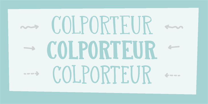 Image for DK Colporteur Fat font