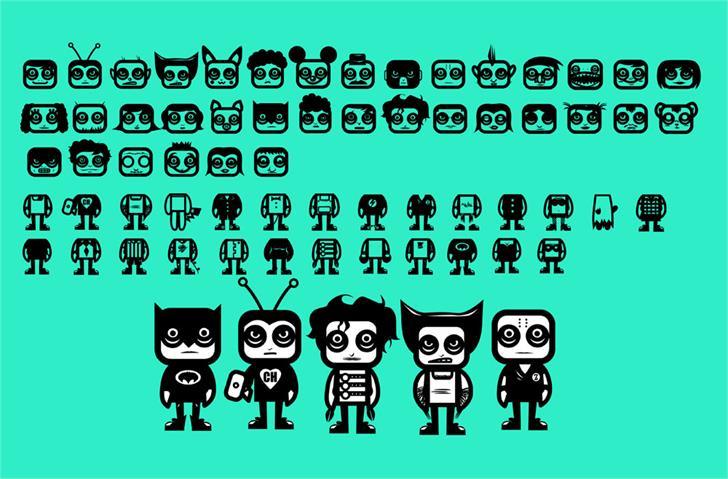 Image for COMANDO X font
