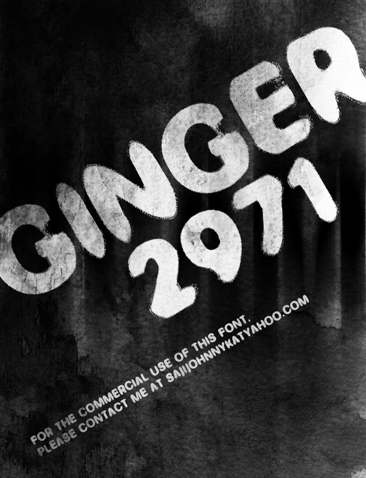Image for GINGER 2971 font