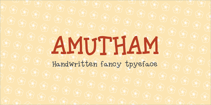 Image for Amutham font