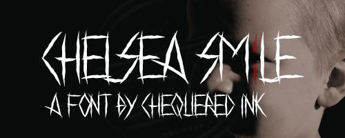 Image for Chelsea Smile font