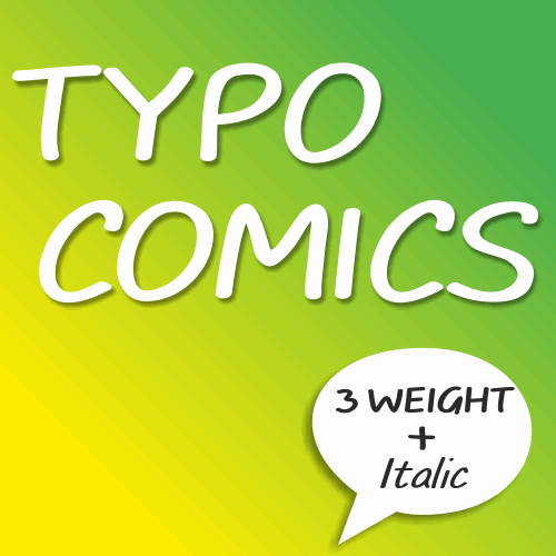Image for TYPO COMICS DEMO font