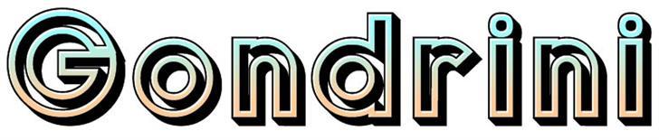 Gondrin font by Peter Wiegel