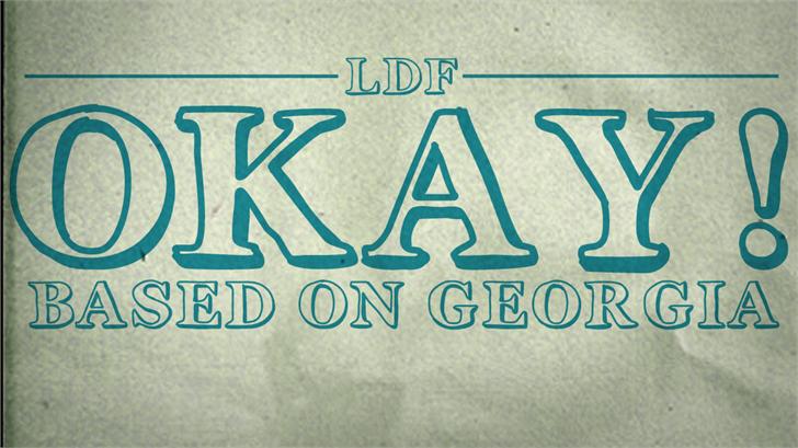 Image for Okay font