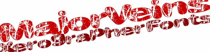 Image for MajorVeins font