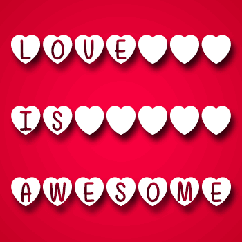 Image for Mf Love Is Awesome font