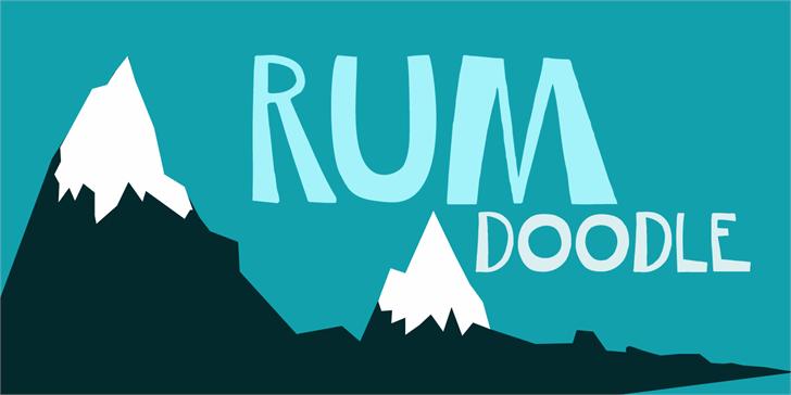 Image for DK Rum Doodle font