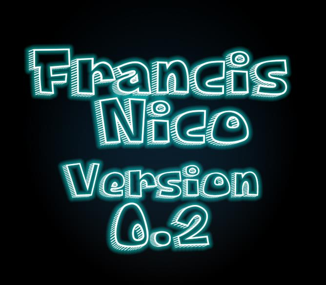 Francis Nico V 0.2 font by VVB DESIGNS