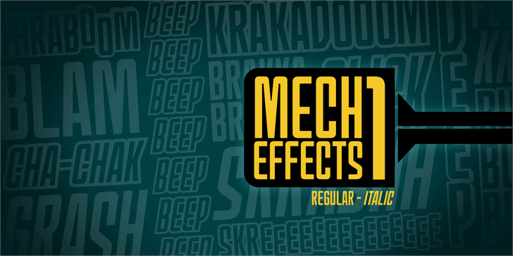 Image for MechEffects1 BB font