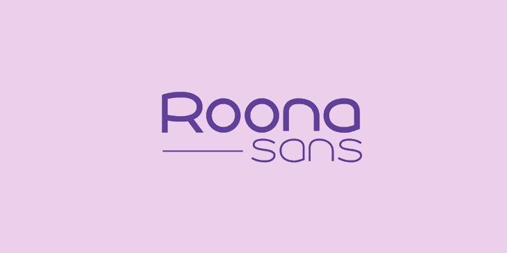 Image for Roona Sans Medium PERSONAL font