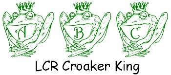 Image for LCR Croaker King font