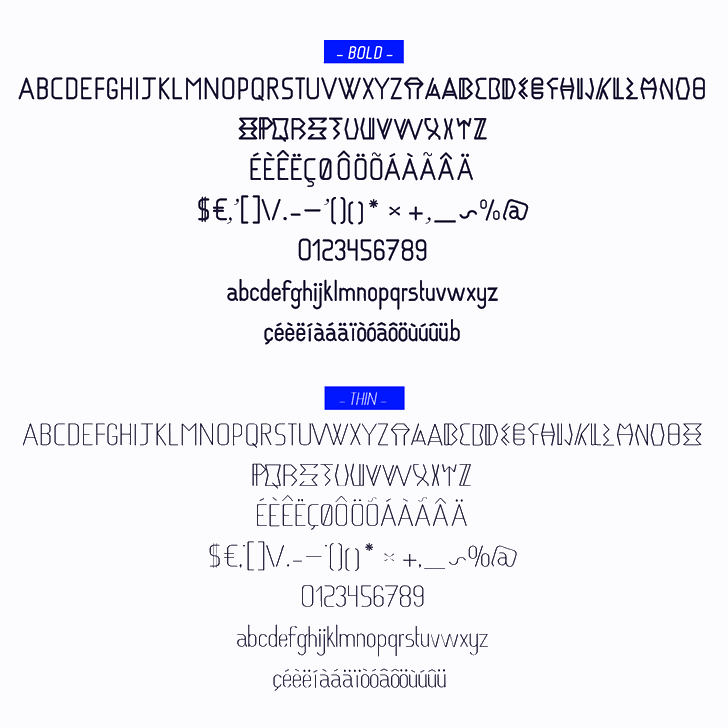 VIBRA font by calixte patissier