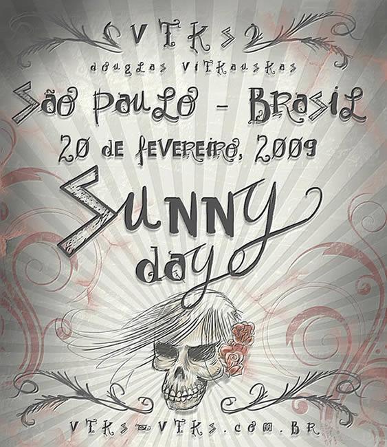 Image for Vtks Sunny Day font