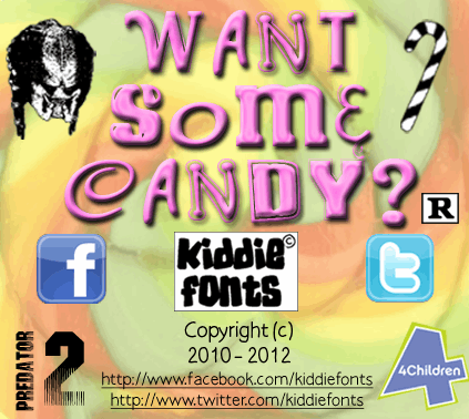 Image for WANT SOME CANDY font
